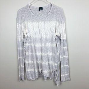 Anthropologie | Fela Tunic Top Tie Dye Long Sleeve